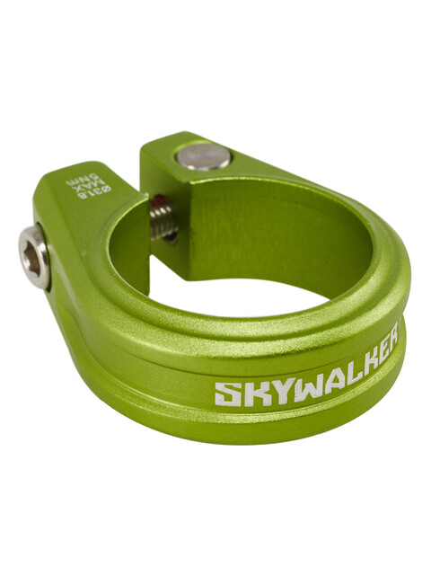 Sixpack Skywalker Sattelklemme 31,8 mm electric-green